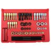 TDK51 - 51 PIECE RETHREADING TAP & DIE SET