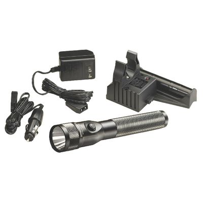 STINGER LED RECHARGEABLE FLASHLIGHT WITH PIGGYBACK CHARGER - BLACK | Matco Tools