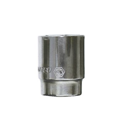 "1/4"" DRIVE 12MM METRIC 6 POINT CHROME SOCKET 
