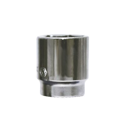 "1/4"" DRIVE 14MM METRIC 6 POINT CHROME SOCKET 