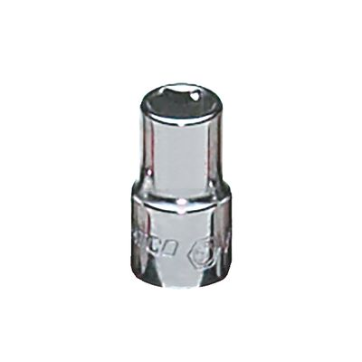 "1/4"" DRIVE 1/4"" SAE 6 POINT CHROME SOCKET 