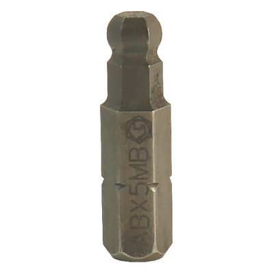 "1/4"" DRIVE 5MM METRIC BALL HEX REPLACEMENT BIT 