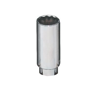 "1/4"" DRIVE 15MM METRIC 12 POINT DEEP CHROME SOCKET 
