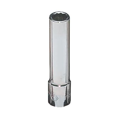 "1/4"" DRIVE 9/32"" SAE 12 POINT DEEP CHROME SOCKET 