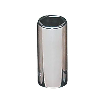 "1/4"" DRIVE 10MM METRIC 6 POINT MID-LENGTH CHROME SOCKET 
