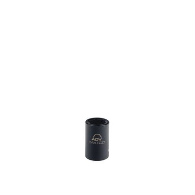 "1/4"" DRIVE 15MM METRIC 6 POINT MAGNETIC IMPACT SOCKET 