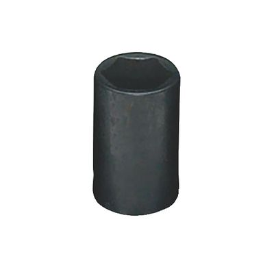 "1/4"" DRIVE 10MM METRIC 6 POINT IMPACT SOCKET 