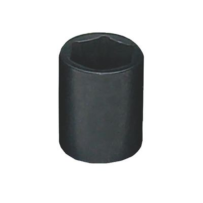 "1/4"" DRIVE 12MM METRIC 6 POINT IMPACT SOCKET 