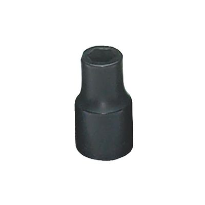 "1/4"" DRIVE 6MM METRIC 6 POINT IMPACT SOCKET 