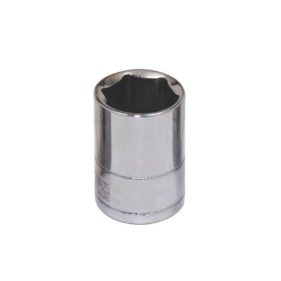 "1/4"" DRIVE SILVER EAGLE 7/16"" SAE 6 POINT CHROME SOCKET 