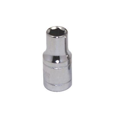 "1/4"" DRIVE SILVER EAGLE 3/16"" SAE 6 POINT CHROME SOCKET 