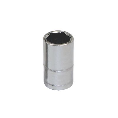 "1/4"" DRIVE SILVER EAGLE 9MM METRIC 6 POINT CHROME SOCKET 