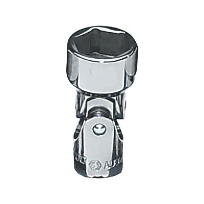 "1/4"" DRIVE 15MM METRIC 6 POINT UNIVERSAL CHROME SOCKET 