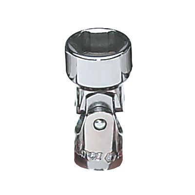 "1/4"" DRIVE 1/2"" SAE 6 POINT UNIVERSAL CHROME SOCKET 