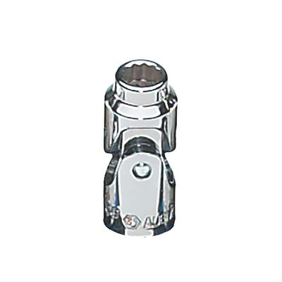 "1/4"" DRIVE 6MM METRIC 12 POINT UNIVERSAL CHROME SOCKET 