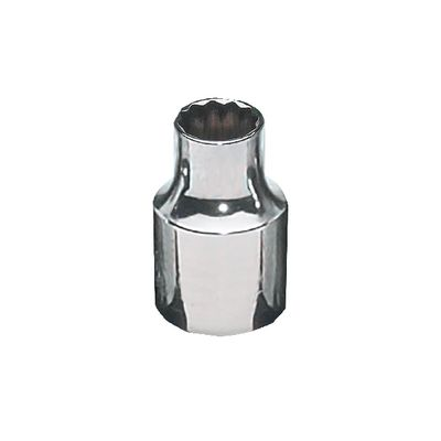 "3/8"" DRIVE 10MM METRIC 12 POINT CHROME SOCKET 