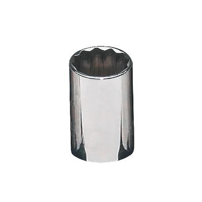 "3/8"" DRIVE 15MM METRIC 12 POINT CHROME SOCKET 