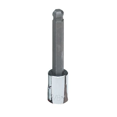 "3/8"" DRIVE 3/8"" SAE MID-LENGTH BALL HEX BIT DRIVER 