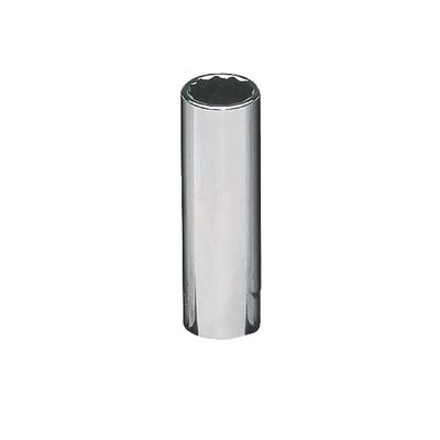 "3/8"" DRIVE 12MM METRIC 12 POINT DEEP CHROME SOCKET 