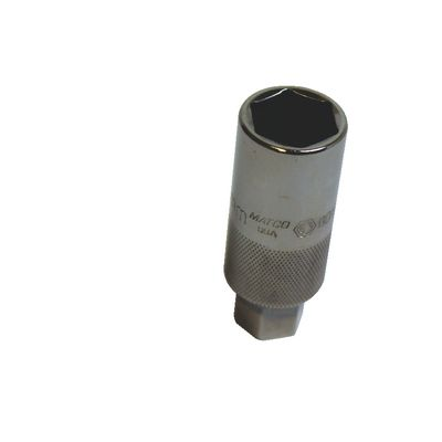 "3/8"" DRIVE 18MM METRIC 6 POINT SPARK PLUG SOCKET 