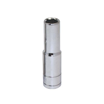 "3/8"" DRIVE SILVER EAGLE 5/16"" SAE 6 POINT DEEP CHROME SOCKET 