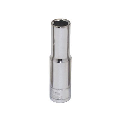 "3/8"" DRIVE SILVER EAGLE 10MM METRIC 6 POINT DEEP CHROME SOCKET 