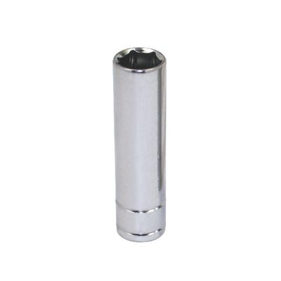 "3/8"" DRIVE SILVER EAGLE 13MM METRIC 6 POINT DEEP CHROME SOCKET 