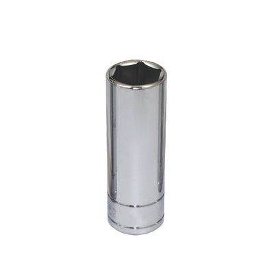 "3/8"" DRIVE SILVER EAGLE 15MM METRIC 6 POINT DEEP CHROME SOCKET 