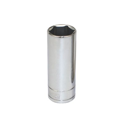 "3/8"" DRIVE SILVER EAGLE 17MM METRIC 6 POINT DEEP CHROME SOCKET 