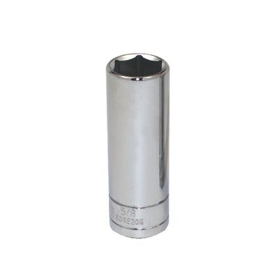 "3/8"" DRIVE SILVER EAGLE 5/8"" SAE 6 POINT DEEP CHROME SOCKET 