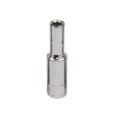 "3/8"" DRIVE SILVER EAGLE 6MM METRIC 6 POINT DEEP CHROME SOCKET 