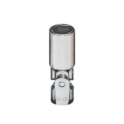 "3/8"" DRIVE 15MM METRIC 6 POINT DEEP UNIVERSAL CHROME SOCKET 