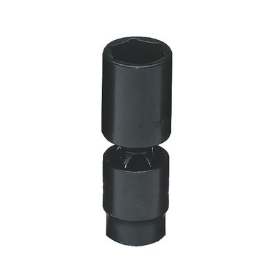 "3/8"" DRIVE 19MM METRIC 6 POINT DEEP UNIVERSAL IMPACT SOCKET 
