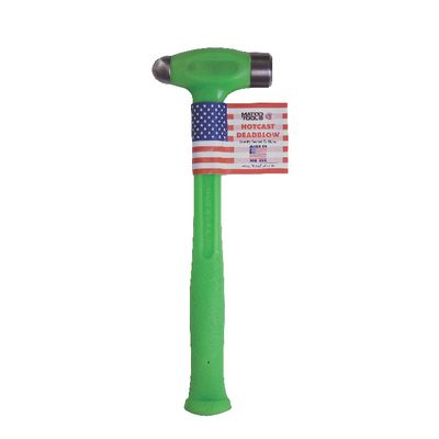 16 OZ DEADBLOW STEEL FACE BALL PEEN HAMMER GREEN | Matco Tools