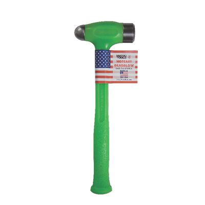 24 OZ DEAD BLOW BALL PEEN HAMMER GREEN | Matco Tools