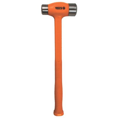 40 OZ. DEAD BLOW STEEL FACE FLAT HAMMER ORANGE | Matco Tools