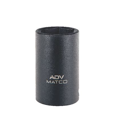 "3/8"" DRIVE 15MM METRIC 6 POINT MID-LENGTH IMPACT SOCKET 