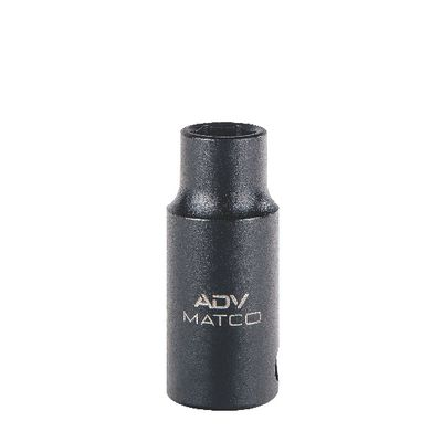 "3/8"" DRIVE 8MM METRIC 6 POINT MID-LENGTH IMPACT SOCKET 