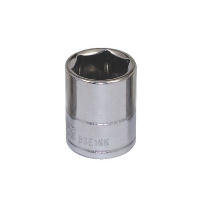 "3/8"" DRIVE SILVER EAGLE 1/2"" SAE 6 POINT CHROME SOCKET 