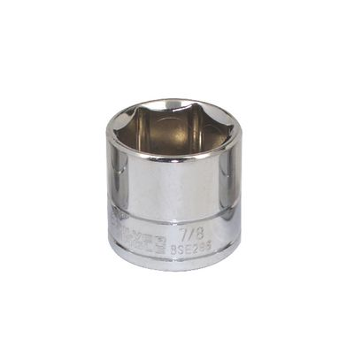 "3/8"" DRIVE SILVER EAGLE 7/8"" SAE 6 POINT CHROME SOCKET 
