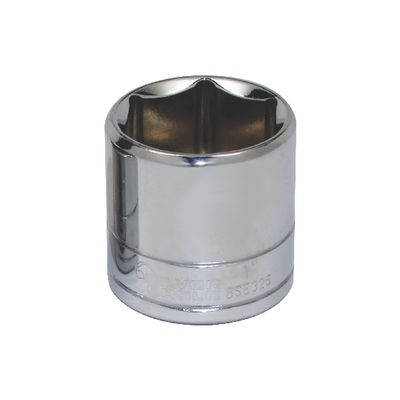 "3/8"" DRIVE SILVER EAGLE 1"" SAE 6 POINT CHROME SOCKET 