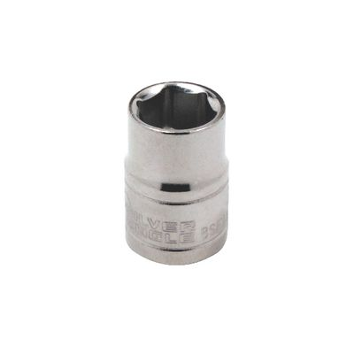 "3/8"" DRIVE SILVER EAGLE 1/4"" SAE 6 POINT CHROME SOCKET 