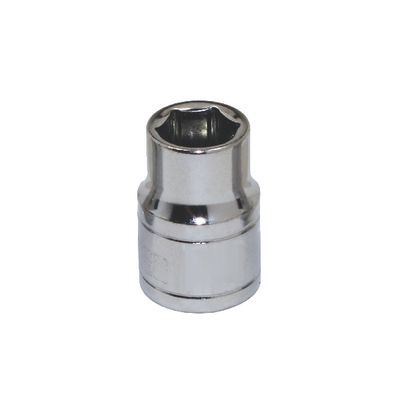 "3/8"" DRIVE SILVER EAGLE 8MM METRIC 6 POINT CHROME SOCKET 