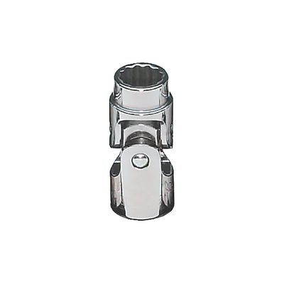 "3/8"" DRIVE 12MM METRIC 12 POINT UNIVERSAL CHROME SOCKET 