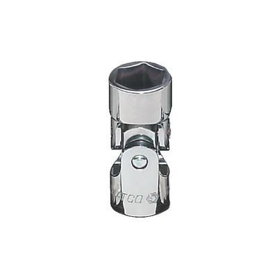 "3/8"" DRIVE 14MM METRIC 6 POINT UNIVERSAL CHROME SOCKET 