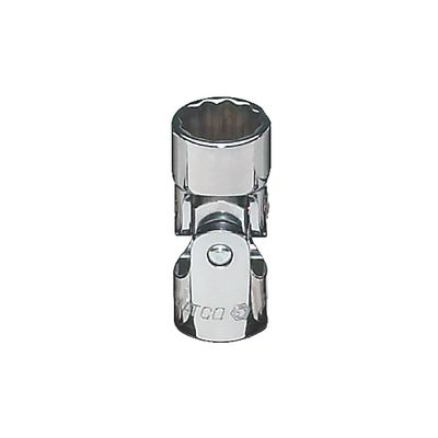 "3/8"" DRIVE 15MM METRIC 12 POINT UNIVERSAL CHROME SOCKET 