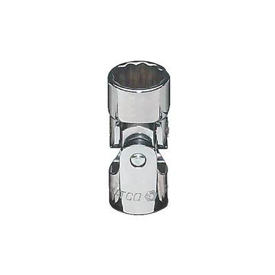 "3/8"" DRIVE 1/2"" SAE 12 POINT UNIVERSAL CHROME SOCKET 