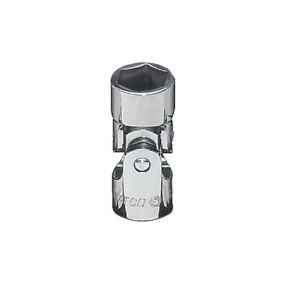 "3/8"" DRIVE 1/2"" SAE 6 POINT UNIVERSAL CHROME SOCKET 
