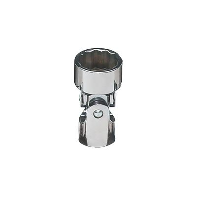 "3/8"" DRIVE 17MM METRIC 12 POINT UNIVERSAL CHROME SOCKET 