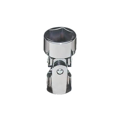 "3/8"" DRIVE 17MM METRIC 6 POINT UNIVERSAL CHROME SOCKET 